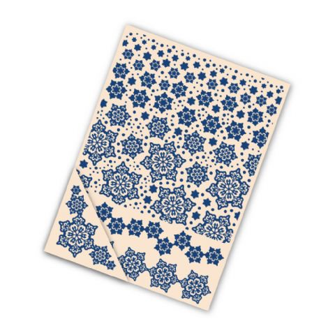 Tattered Lace Embossing Folder Delicate Snowflake - EF007